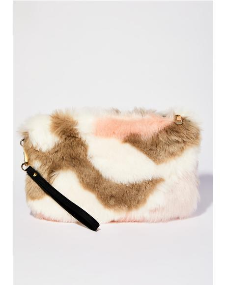 Cream Of The Crop Wristlet