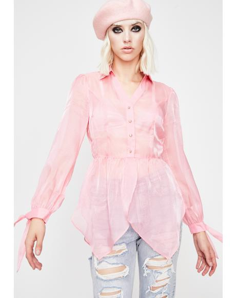 It Girl Organza Top