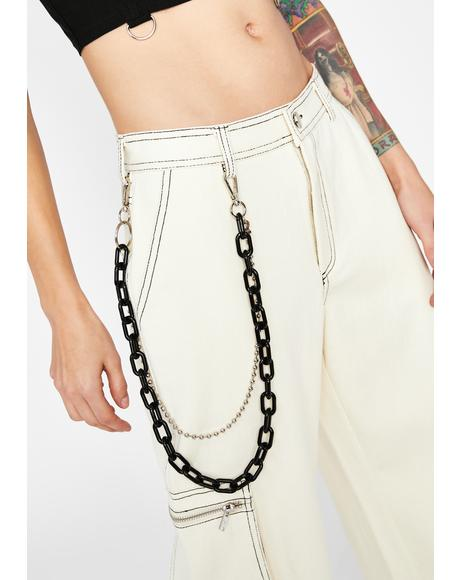 Off The Cuff Chain Belt