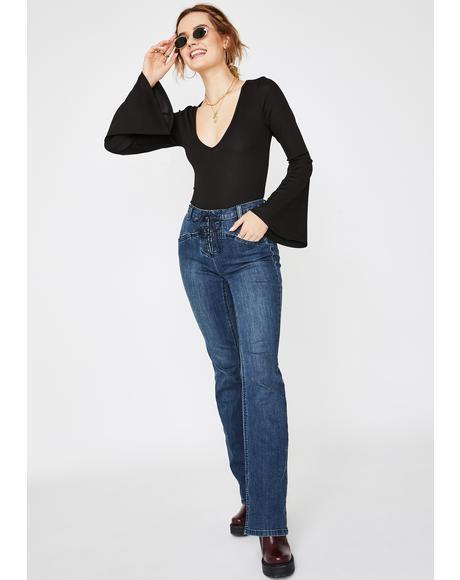 Charli Bell Sleeve Bodysuit