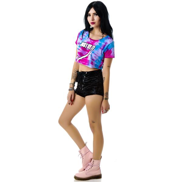 The Ragged Priest The Just Dye It Cropped Tee