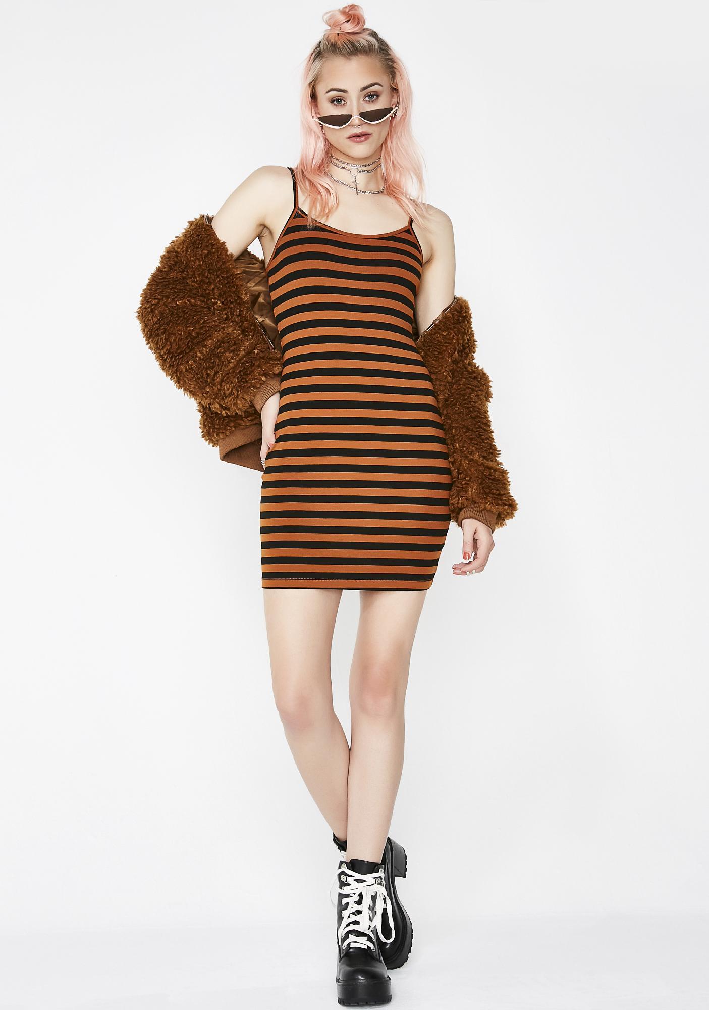 The Best Feeling Stripe Dress