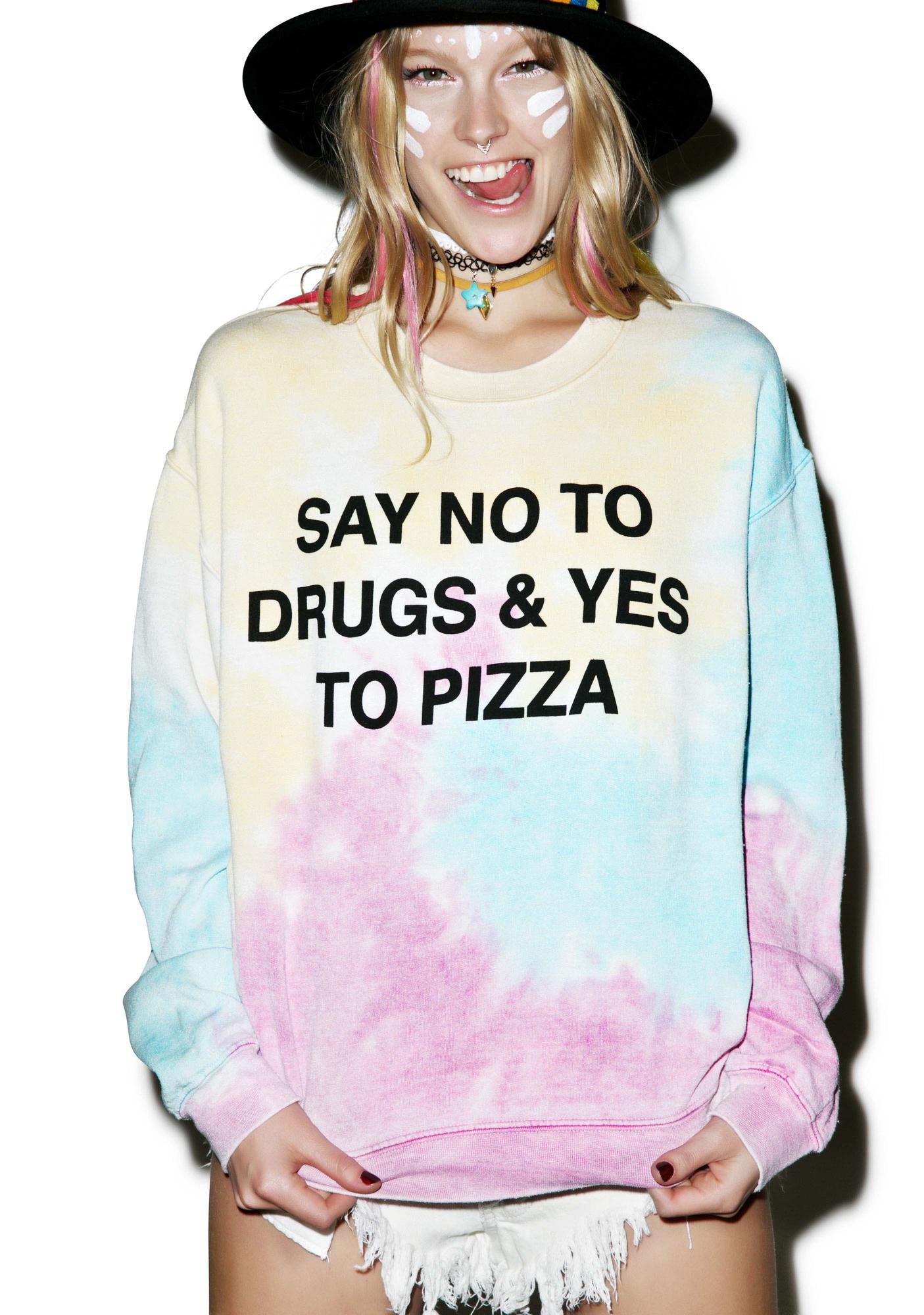 Jac Vanek No To Drugs Sweatshirt