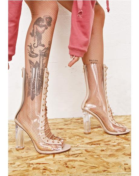 Scorpio Lace-Up Boots
