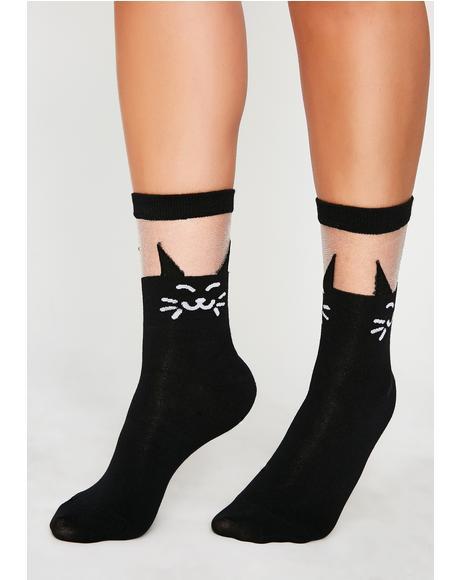 Want It Meow Socks