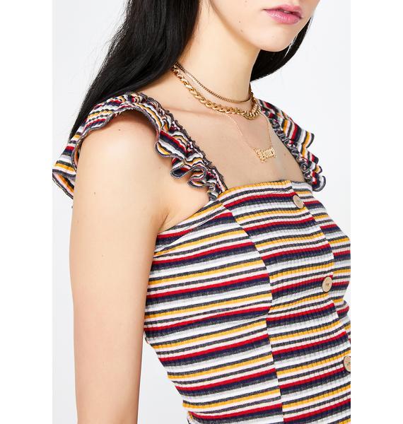 Yet Unwritten Stripe Dress