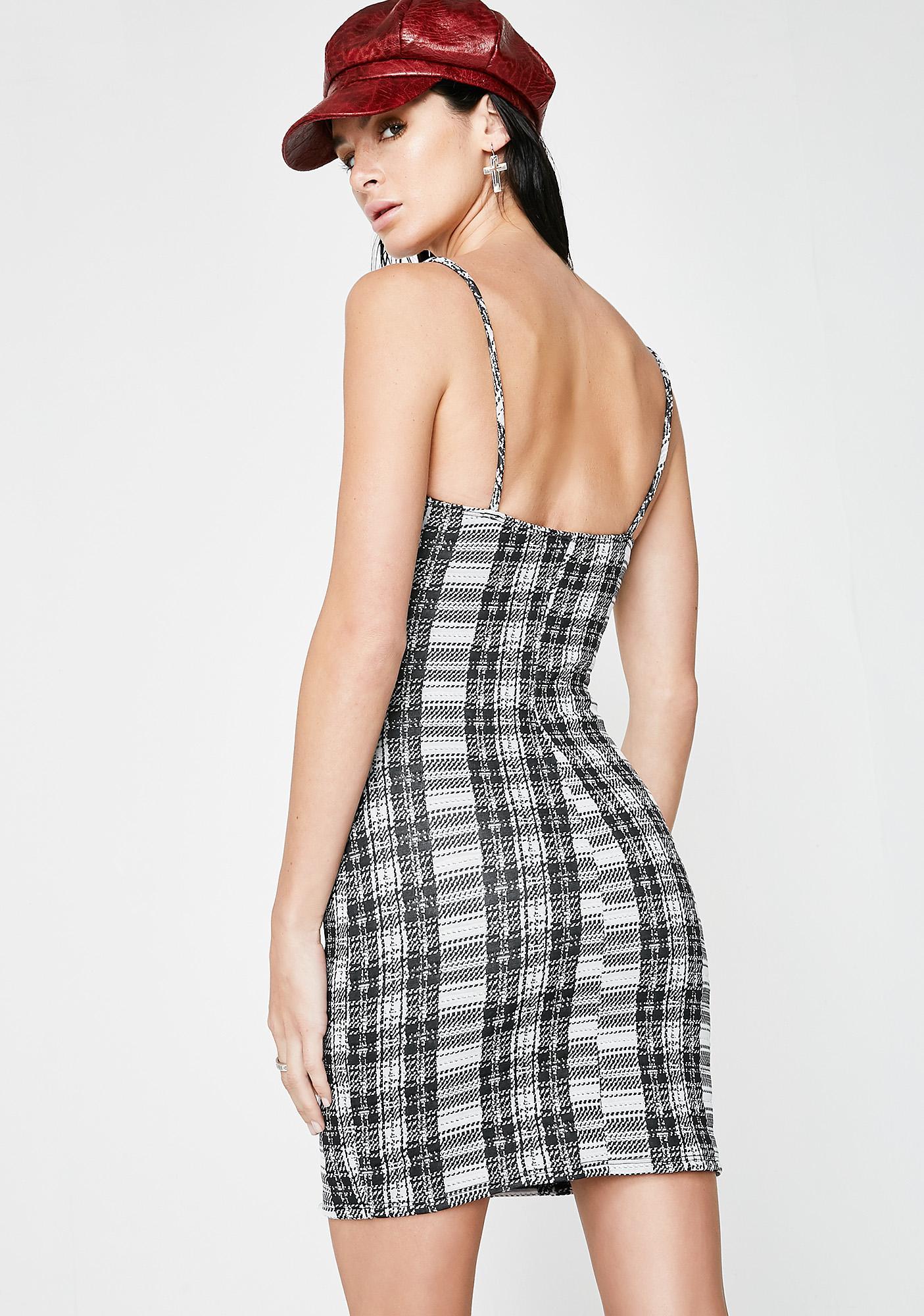 Yung Luv Plaid Dress