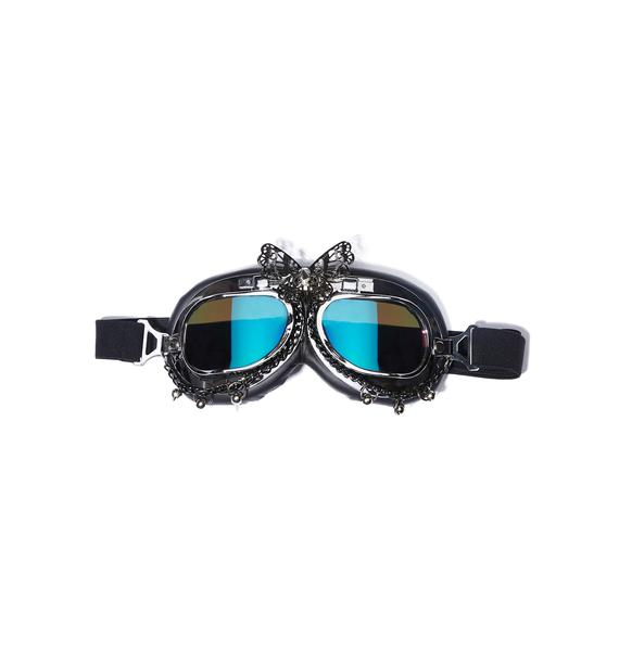 Float Like A Butterfly Goggles