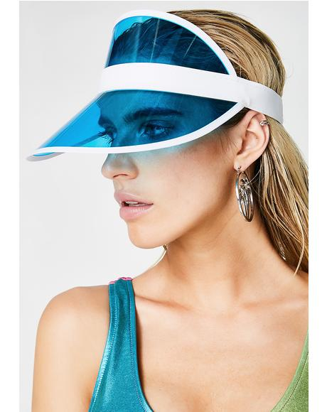 Aqua Throw Shade Visor