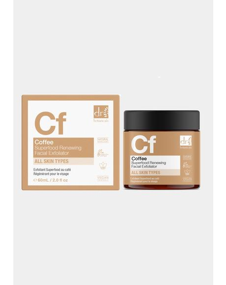 Coffee Superfood Renewing Facial Exfoliator