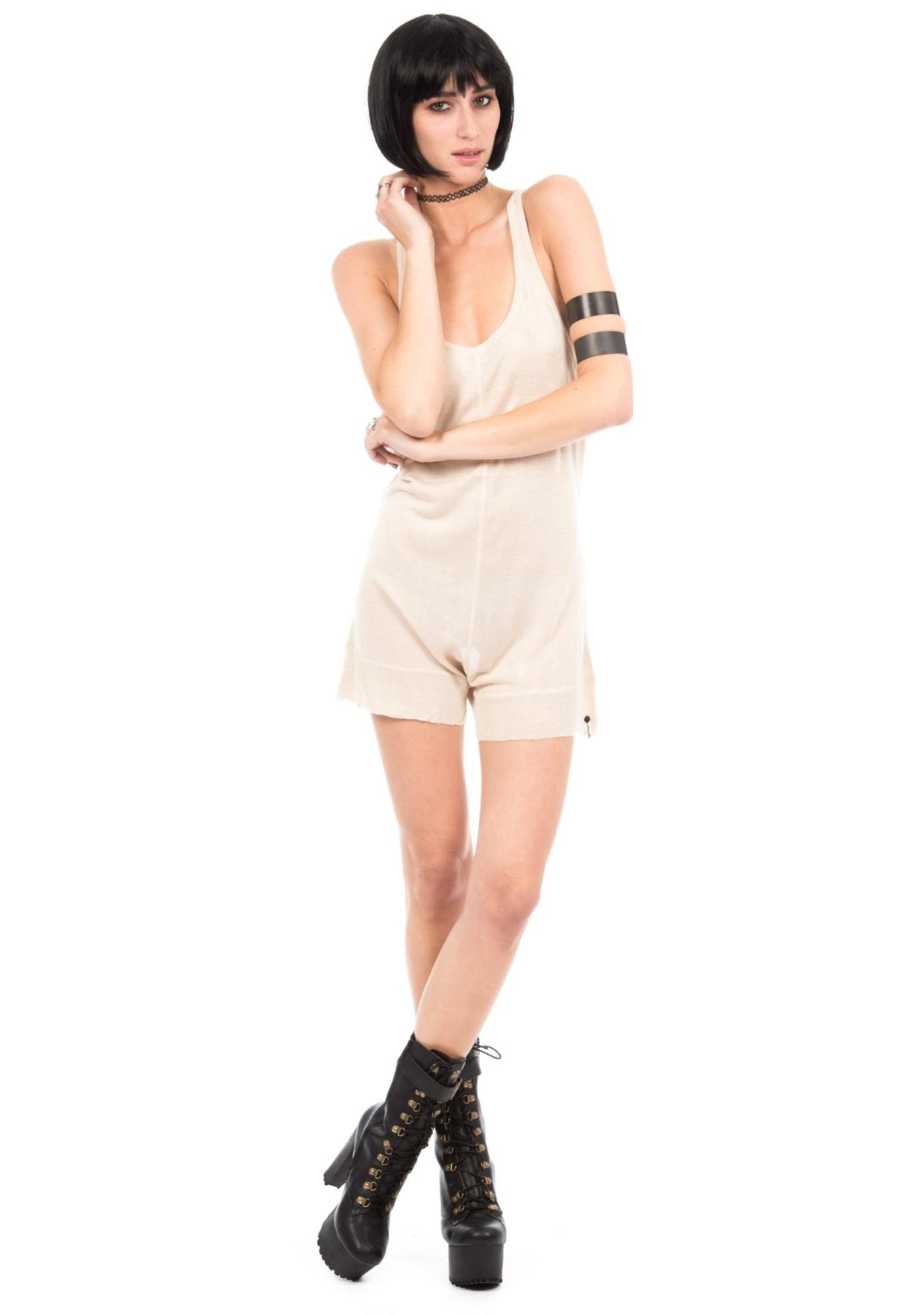 One Teaspoon Hunter Fine Knit Jumpsuit