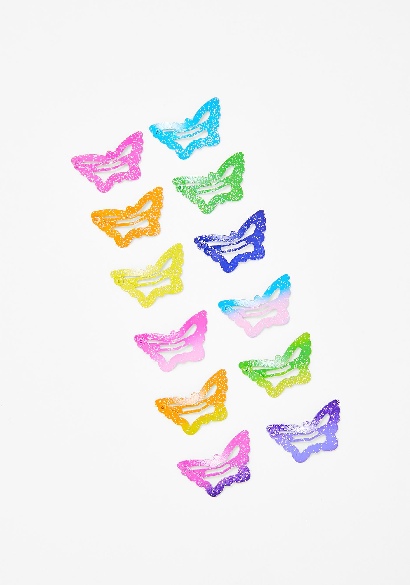 Pretty Baby Butterfly Clip Set