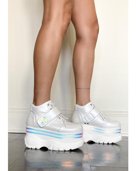Bratty Trance Platform Sneakers
