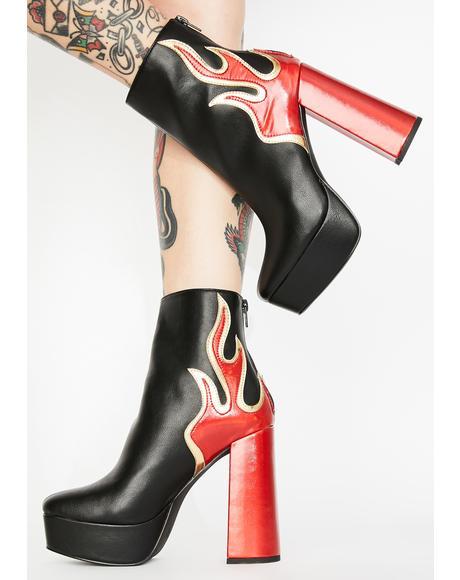 Ablaze Platform Boots