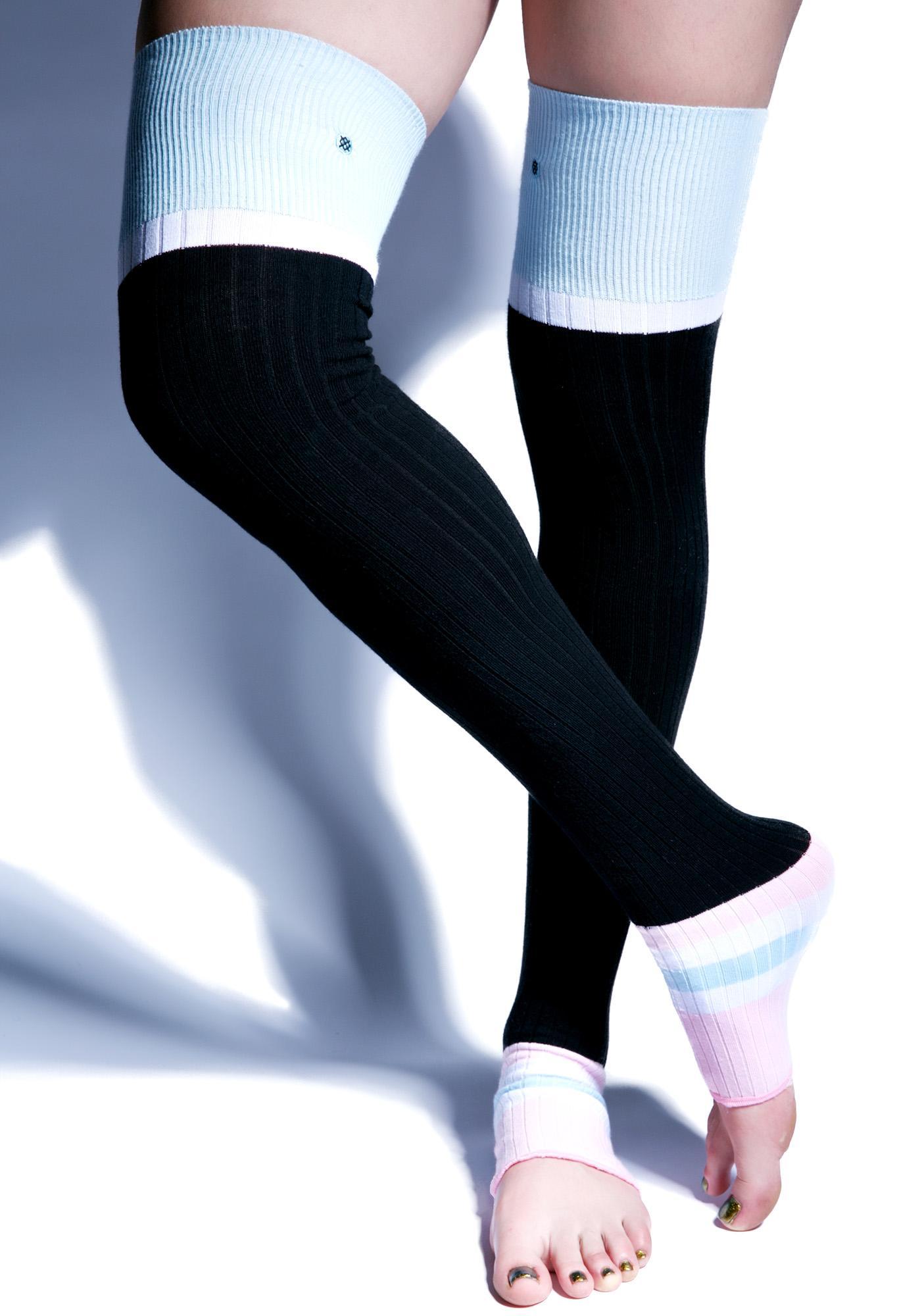 7ddb2b6fe Stance Sporty Baby Thigh Highs