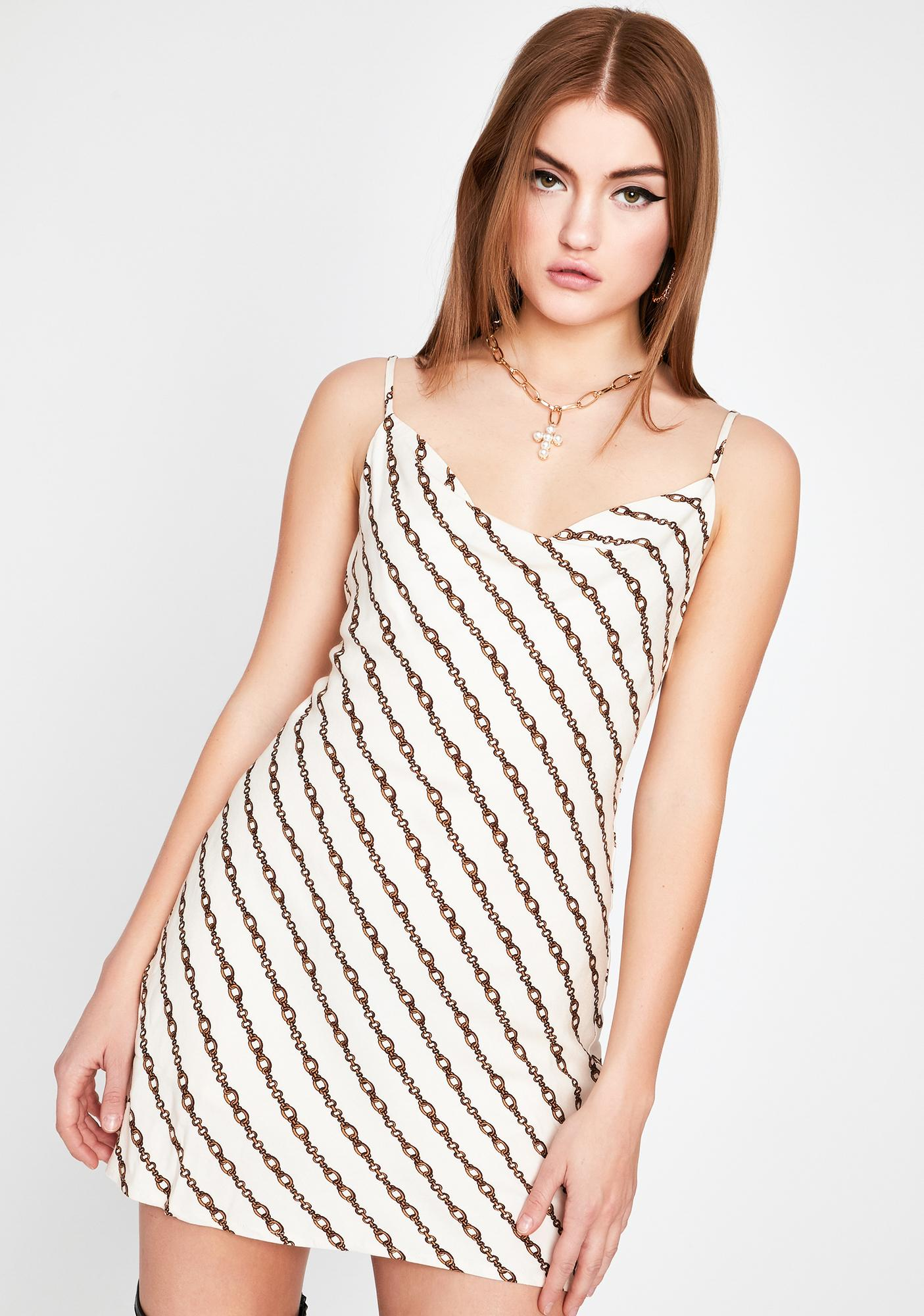 Body In Chains Mini Dress