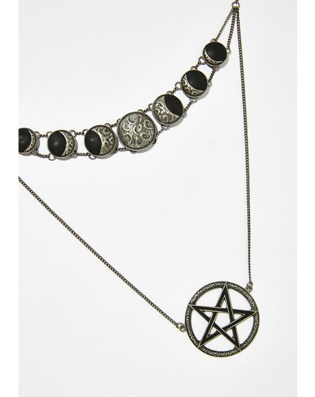 Phases Layer Necklace