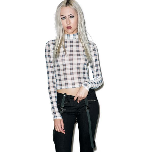 Evil Twin Skyler Crop Top
