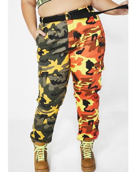 Dual Empowered Babe Camo Pants