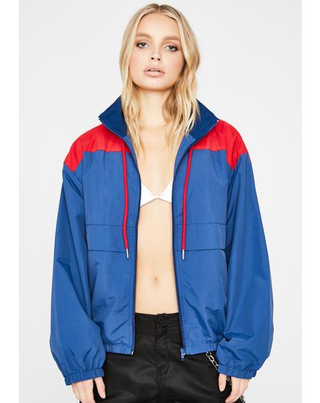 Bold Movez Two-Tone Windbreaker