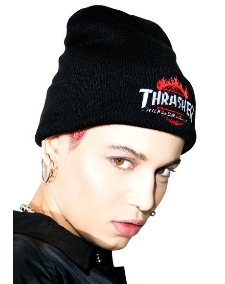 X Thrasher Tour De Stoops Beanie