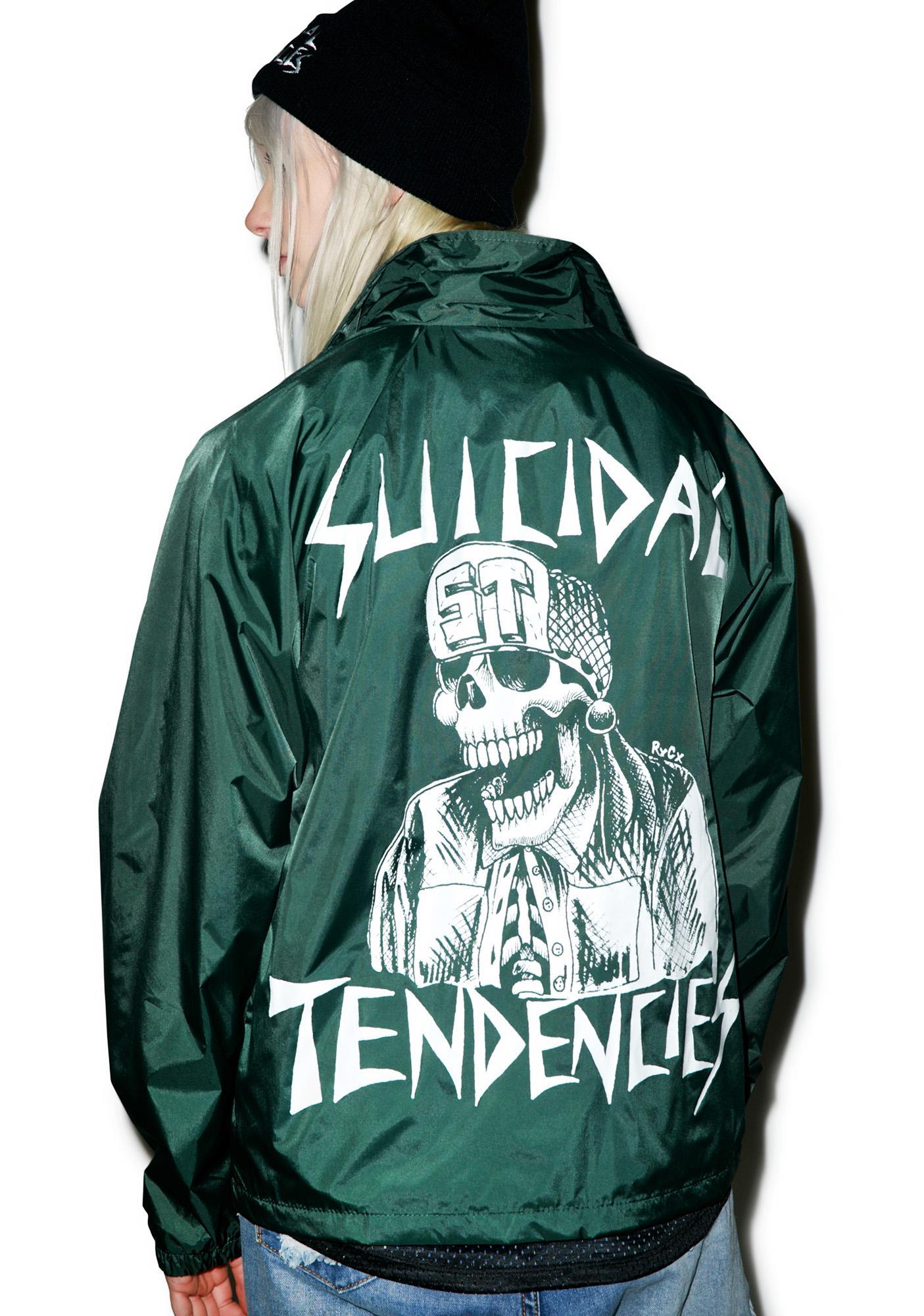 Suicidal Tendencies OG Flip Skull Windbreaker