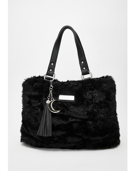 Lucy Fur Handbag