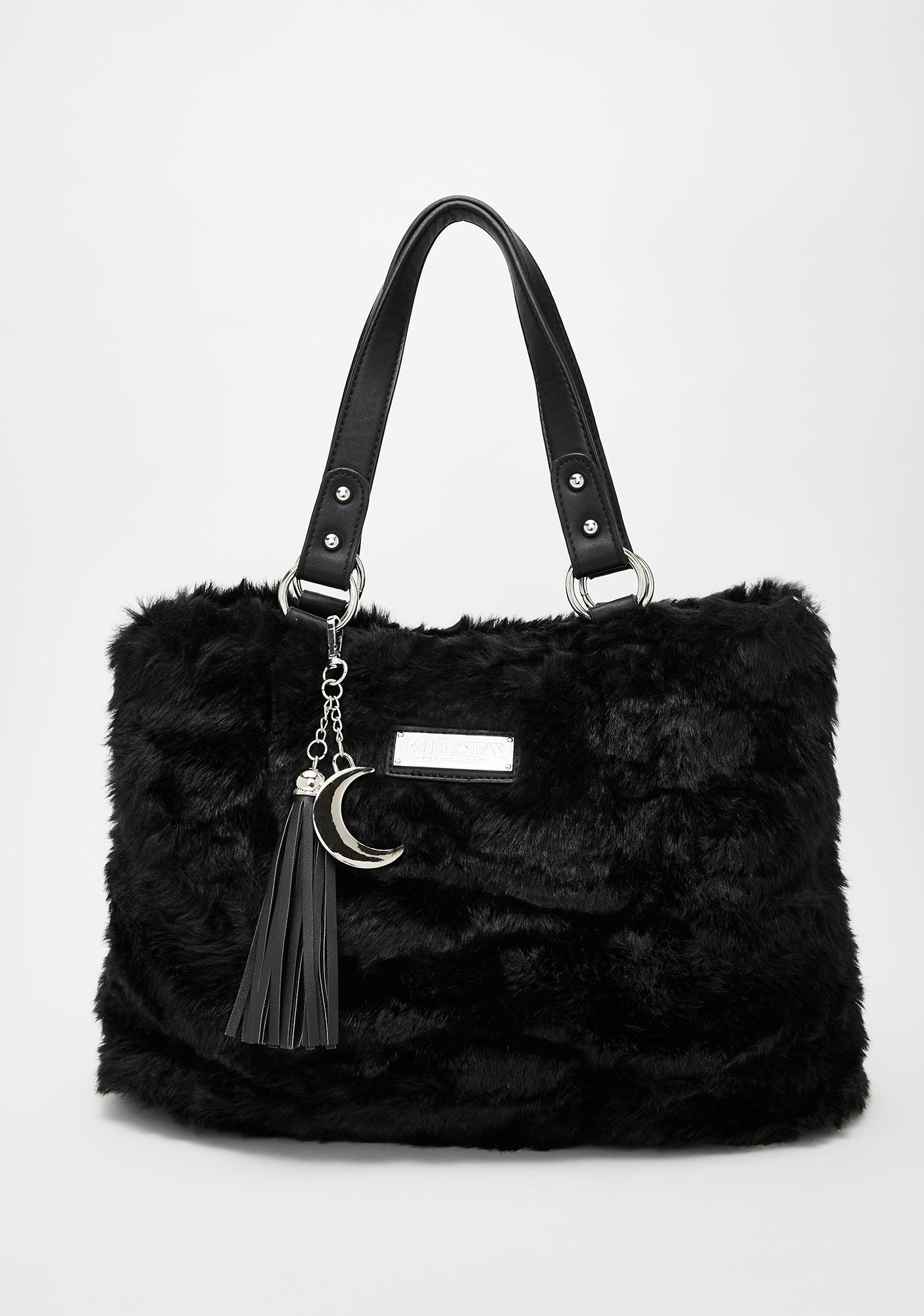 Killstar Lucy Fur Handbag
