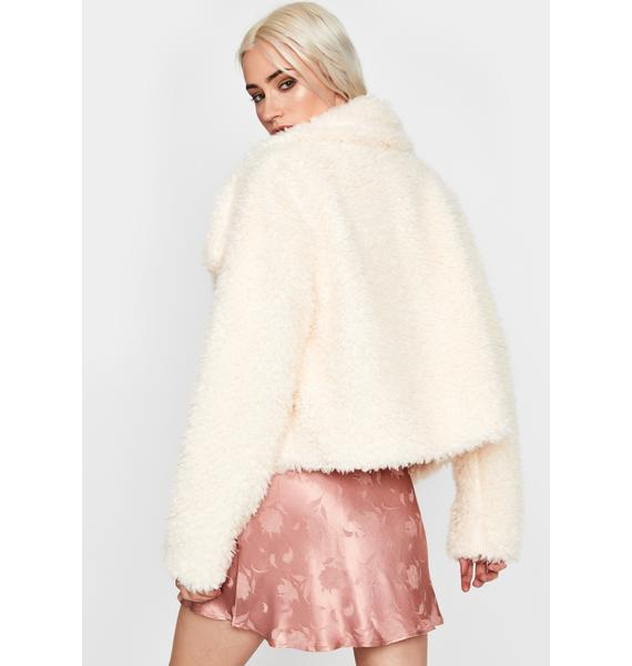 Autumn Delight Fuzzy Jacket