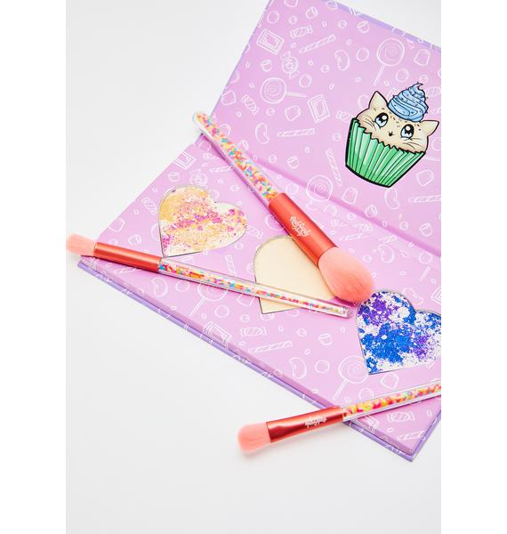 Andy Candy Makeup The Sweetest Sprinkles Brush Set