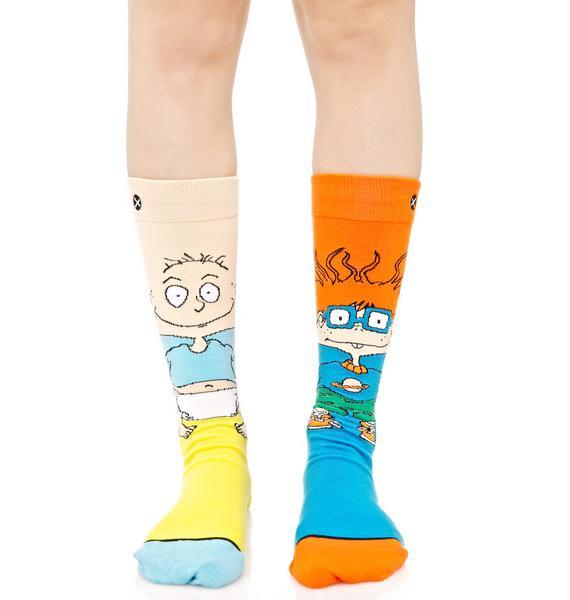 Odd Sox Tommy And Chuckie Socks