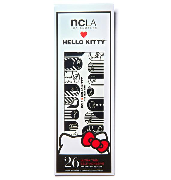 NCLA Mod Hello Kitty Nail Wraps