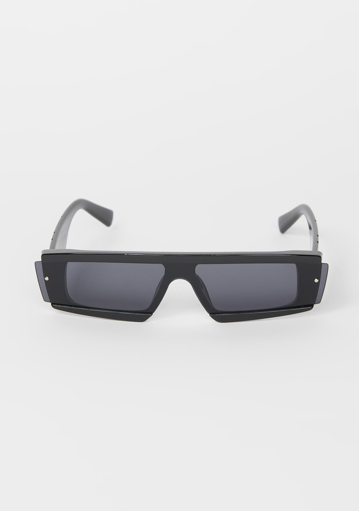Undercover Star Rectangle Sunglasses
