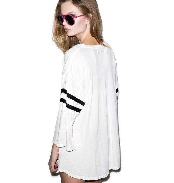Wildfox Couture This Bod's For You Jersey Tunic