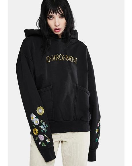 Environment V2 Embroidered Hoodie