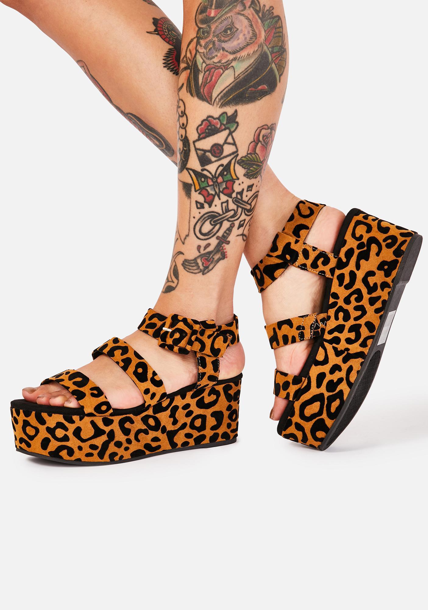 Seen It All Platform Sandals