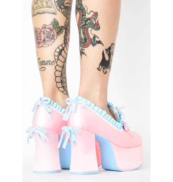 Sugar Thrillz Bisou Baby Platform Heels