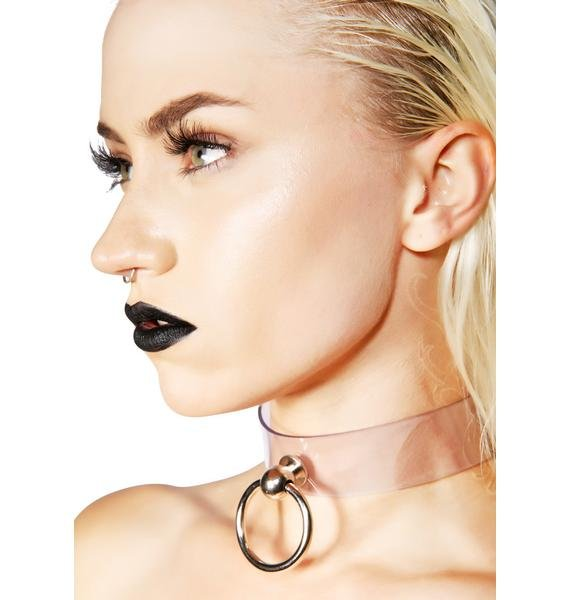 Clearly In Charge Choker