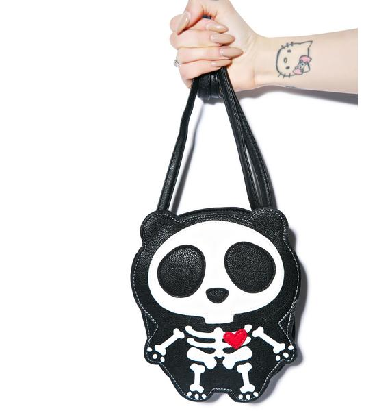 Skeleton Bear Bag