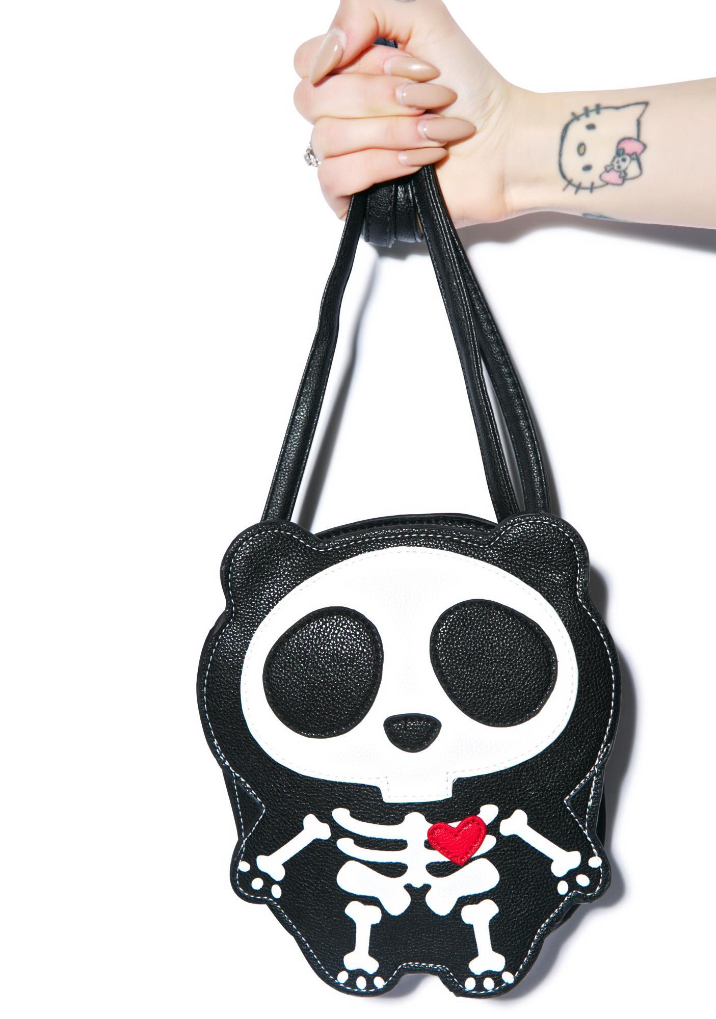Skeleton Bear Bag