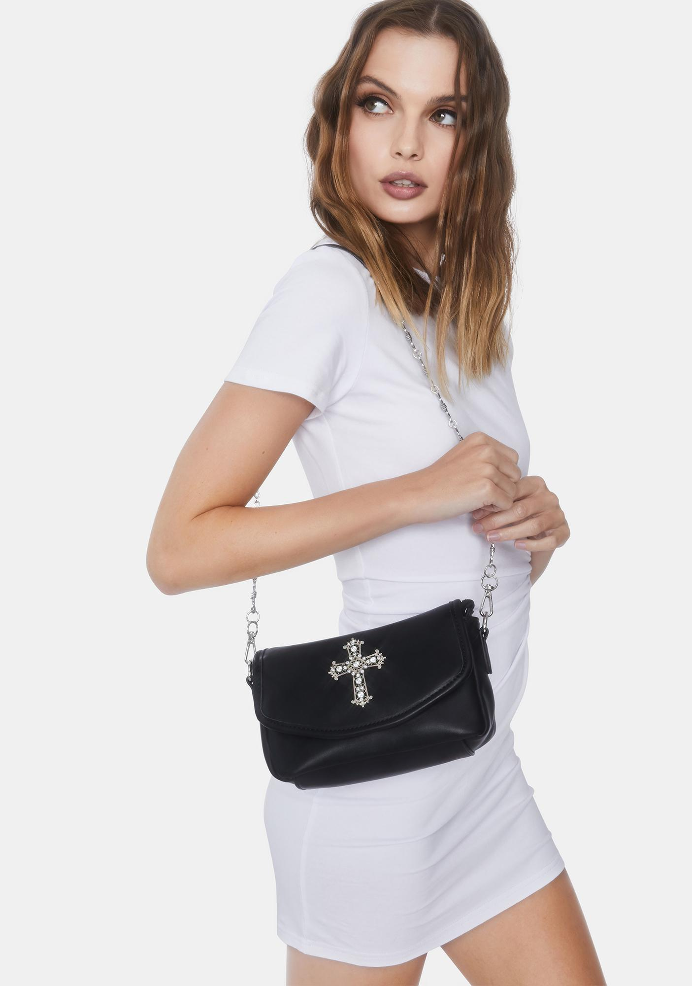 Current Mood Holy Fool Barbed Wire Purse