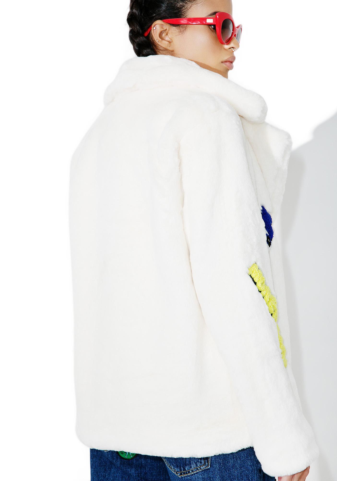 Put 'Em Up Faux Fur Coat