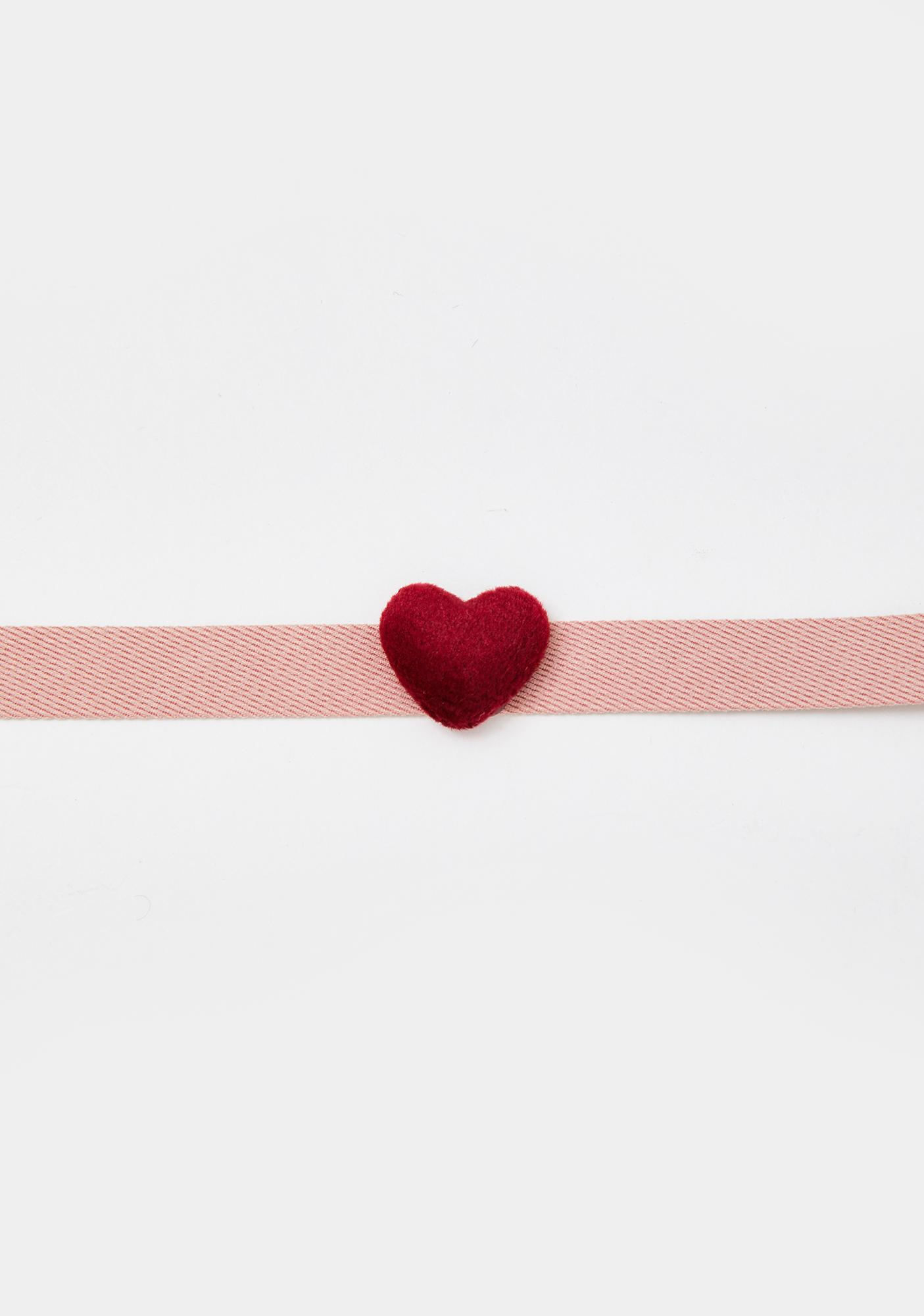 Loved Up Heart Choker