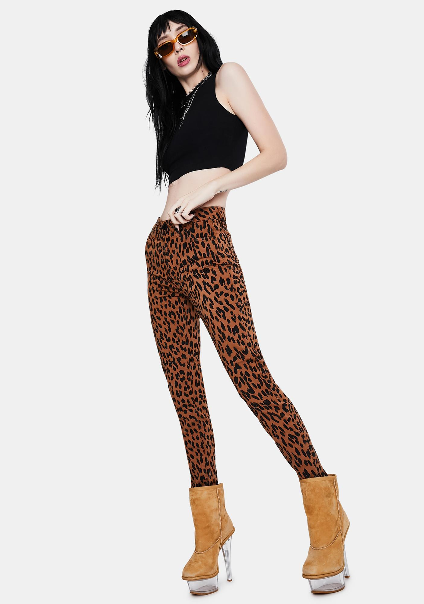 Articles of Society Heather High Waisted Jeans