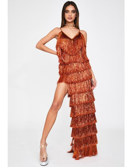 Death Drop Fringe Dress