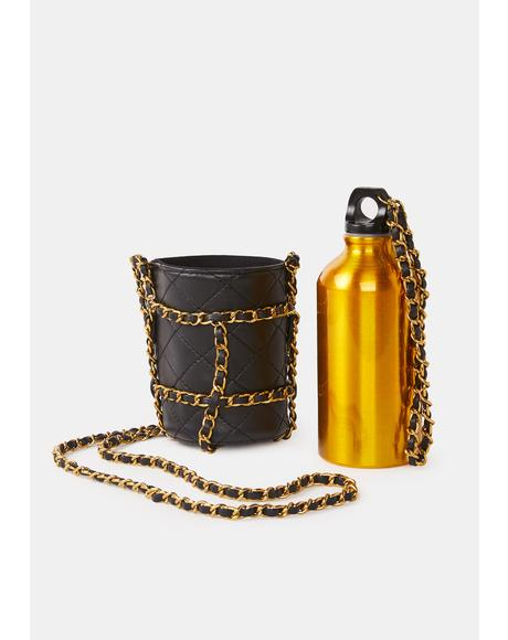Bare Necessities Water Bottle And Crossbody Bag