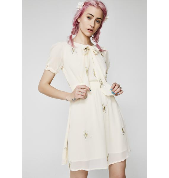 For Love & Lemons Scorpion Babydoll Mini Dress