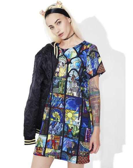 Ever After Stained Glass Tee Dress