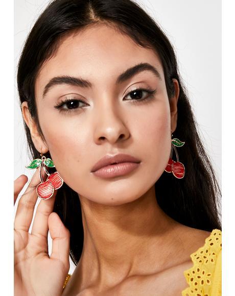 Poppin' Cherries Earrings