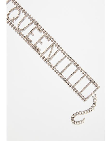 Your Majesty Rhinestone Choker